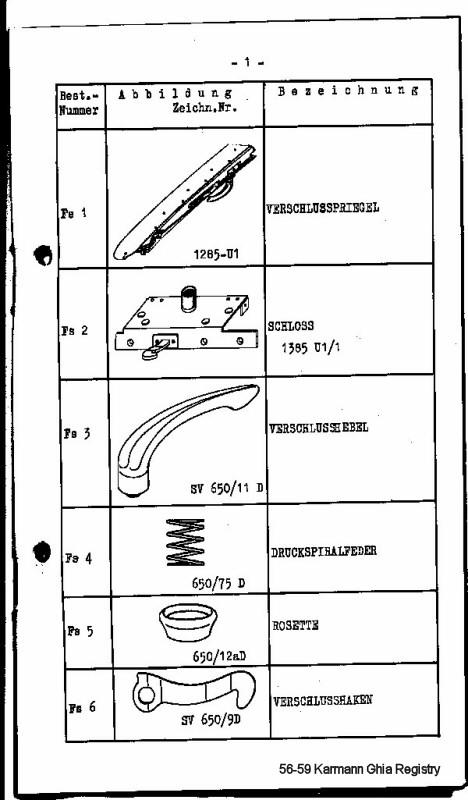 Webasto Parts Manual