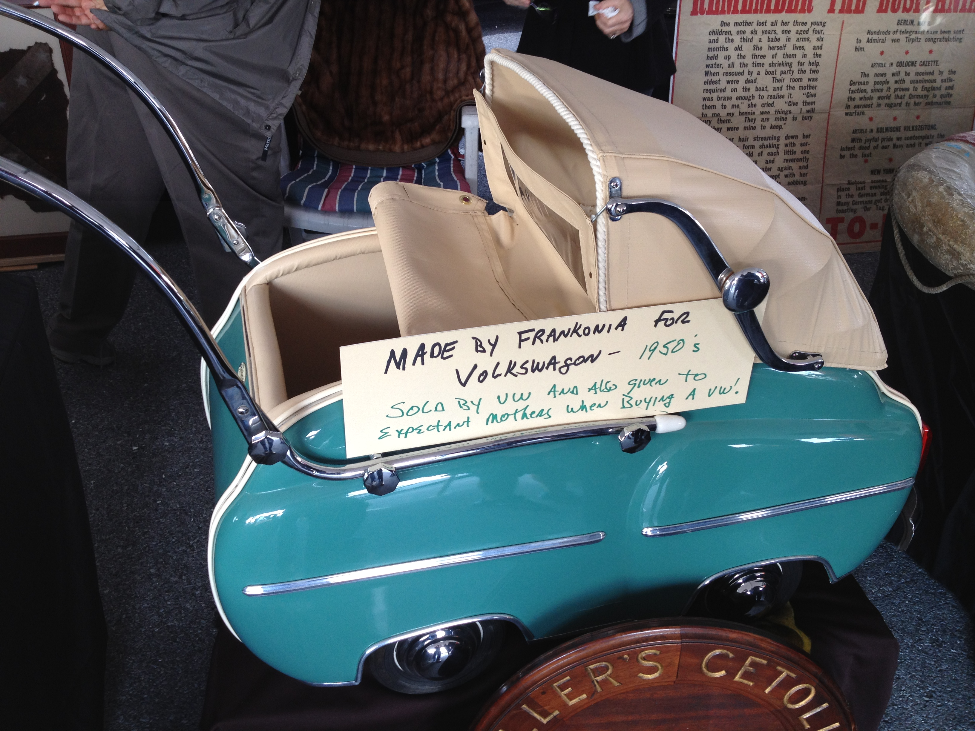 beetle oval window 1953 57 view topic fankonia baby stroller given out. Black Bedroom Furniture Sets. Home Design Ideas